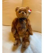 "18"" Ty Plush Yesterbear Brown Bear 1999 Stuffed Animal, Nice Condition, Doll - $22.27"