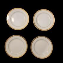 "Lot of 4 VTG Regency GOLD PATTERN 6.25"" Bread Desseet Plates Fine China Japan - $21.76"