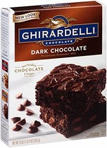 Ghirardelli Dark Chocolate Brownie Mix, 20-Ounce Boxes, Pack of 4 - $29.99