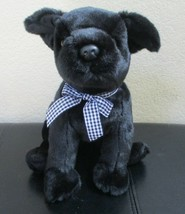 "Ty Beanie Buddy Luke the Black Dog 10"" NO TAG - $12.86"