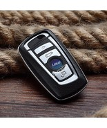 Real leather Keyless Smart Key Case Cover Trim for part of BMW F10 F20 F30 F13 F - $39.49