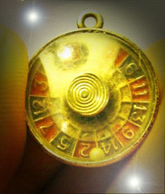 FREE W $99 HAUNTED AMAZING LUCK WINS ROULETTE PENDANT MAGICK 7 SCHOLARS - $0.00