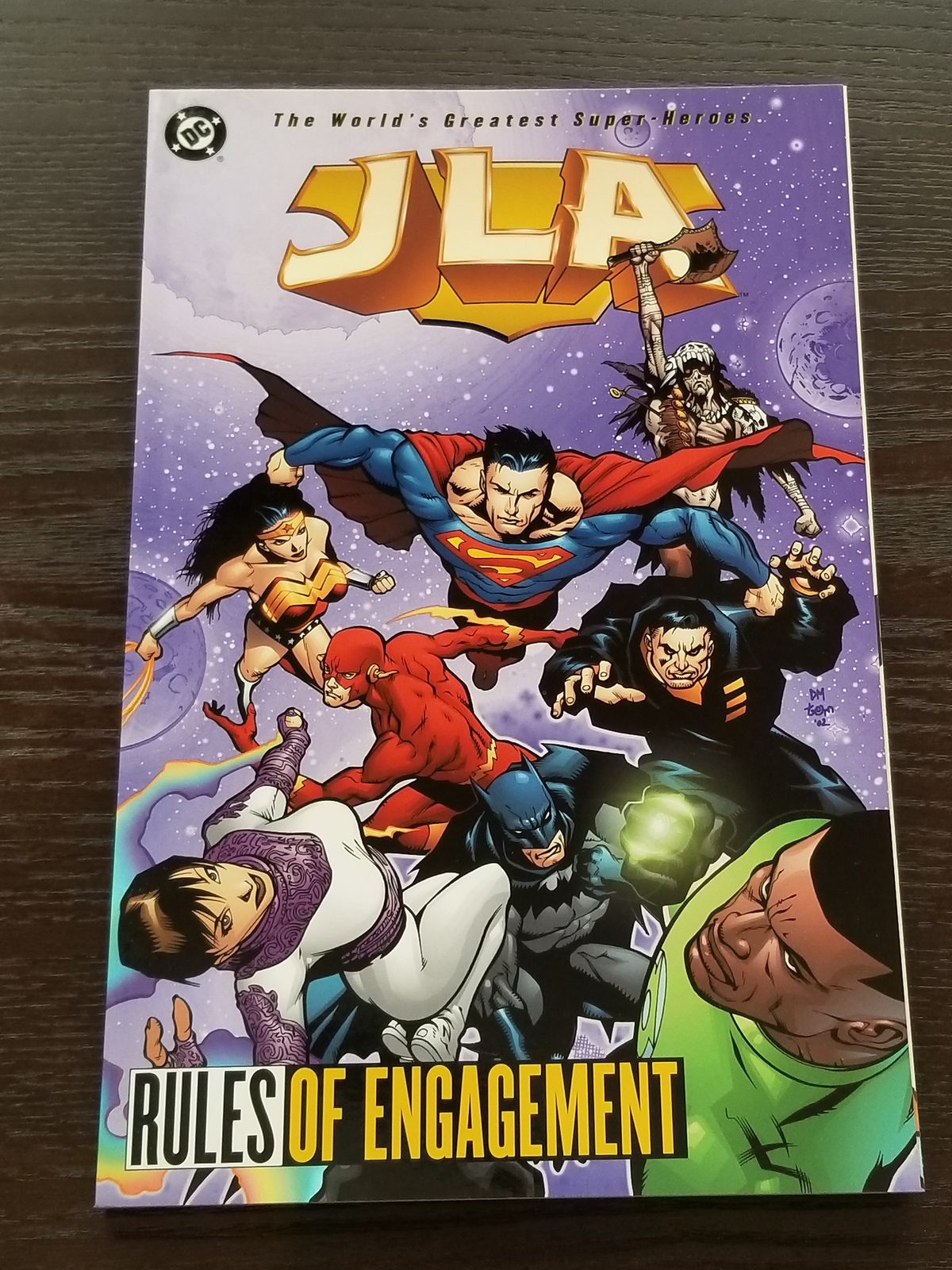 JLA Rules of Engagement Softcover Graphic Novel