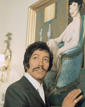 Peter Wyngarde in Department S Classic Portrait as Jason King by Exotic Artwork  - $69.99