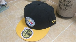 New Era 59Fifty NFL STEELERS On The Field Football Hat Cap Sz 6 5/8 - $20.00