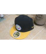 New Era 59Fifty NFL STEELERS On The Field Football Hat Cap Sz 6 5/8 - £16.05 GBP