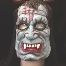 Vampire Team Devil BLUE DEMON HOODED MASK Cosplay Halloween Horror Costu... - £5.25 GBP