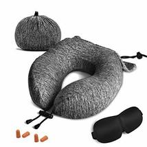 ZAMAT Travel Pillow, Comfortable Memory Foam Neck Pillow, Adjustable Cam... - £19.33 GBP
