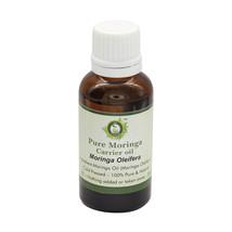 R V Essential Pure Moringa Oil Moringa Oleifera Cold Pressed For Pain Re... - $6.97+