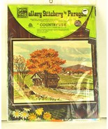 Vintage PARAGON GALLERY STITCHERY Crewel Embroi... - $22.99