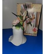 "Hummingbird Bell 6"" Porcelain Ceramic Bell - $19.80"
