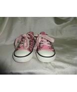 VGUC - HELLO KITTY Girls' Black & Pink Animal Print Athletic Shoes - Siz... - $9.89