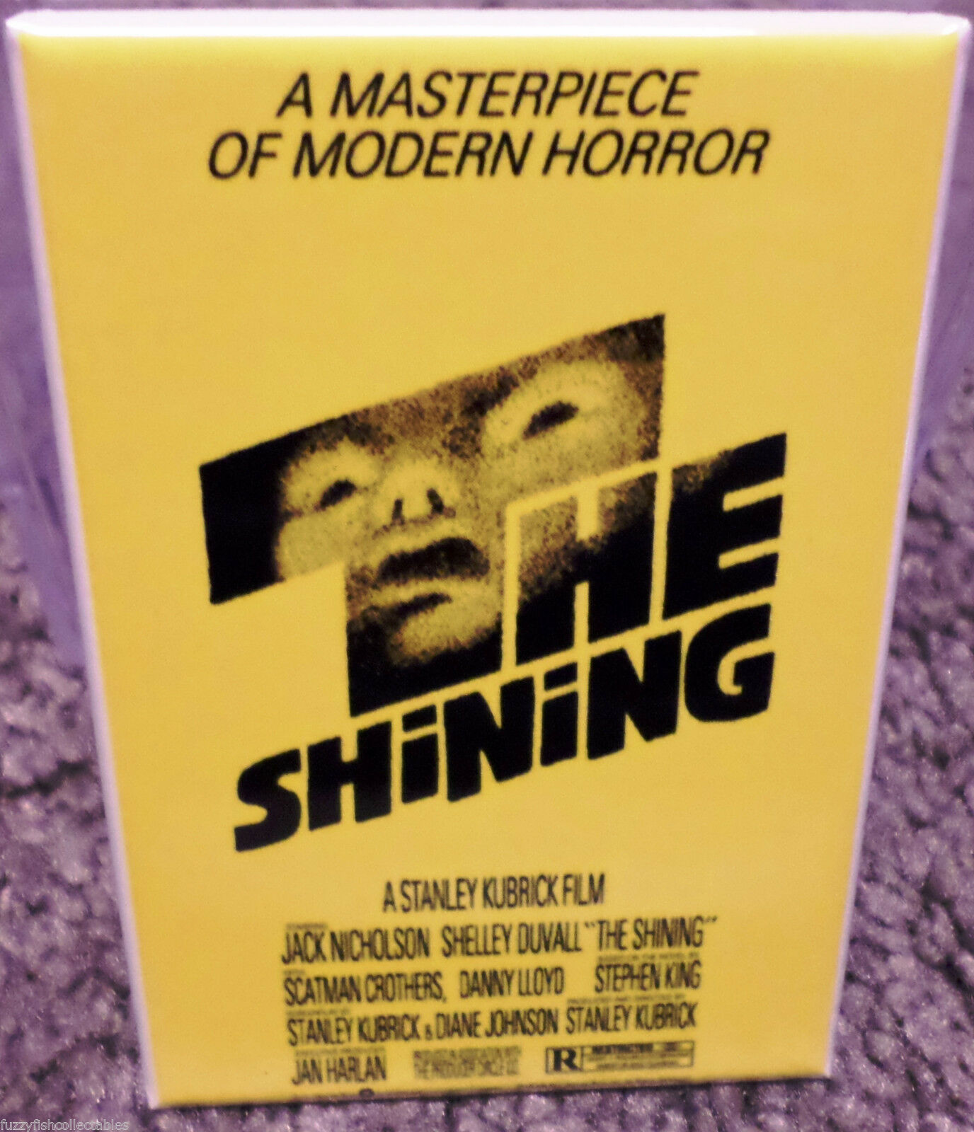 THE SHINING MOVIE POSTER MAGNET 2X3 INCHES JACK NICHOLSON STANLEY KUBRICK