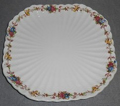 Copeland Spode HAZEL DELL Square Luncheon Plate MADE IN ENGLAND - $29.69
