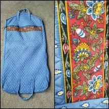 Vinatge VERA BRADLEY Cloth Multi-Color Floral Garment Clothing Travel Bag - $42.07