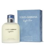 Dolce & Gabbana Light Blue Eau De Toilette Spray 4.2oz(125ml) for Men - $70.00