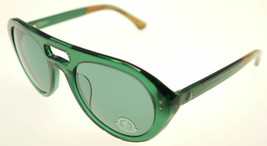 MONCLER MC529-S03 Green & Brown / Green Sunglasses MC 529S-03 - $166.11