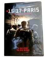 The 15:17 to Paris DVD 1517 True Story Terrorism America Hero Clint Eastwood NEW - $6.86