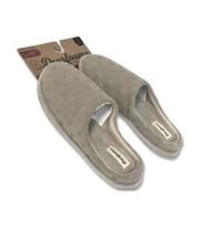 Dearfoams Womens Memory Foam Debossed Slide Slippers - L (9-10) - $29.99
