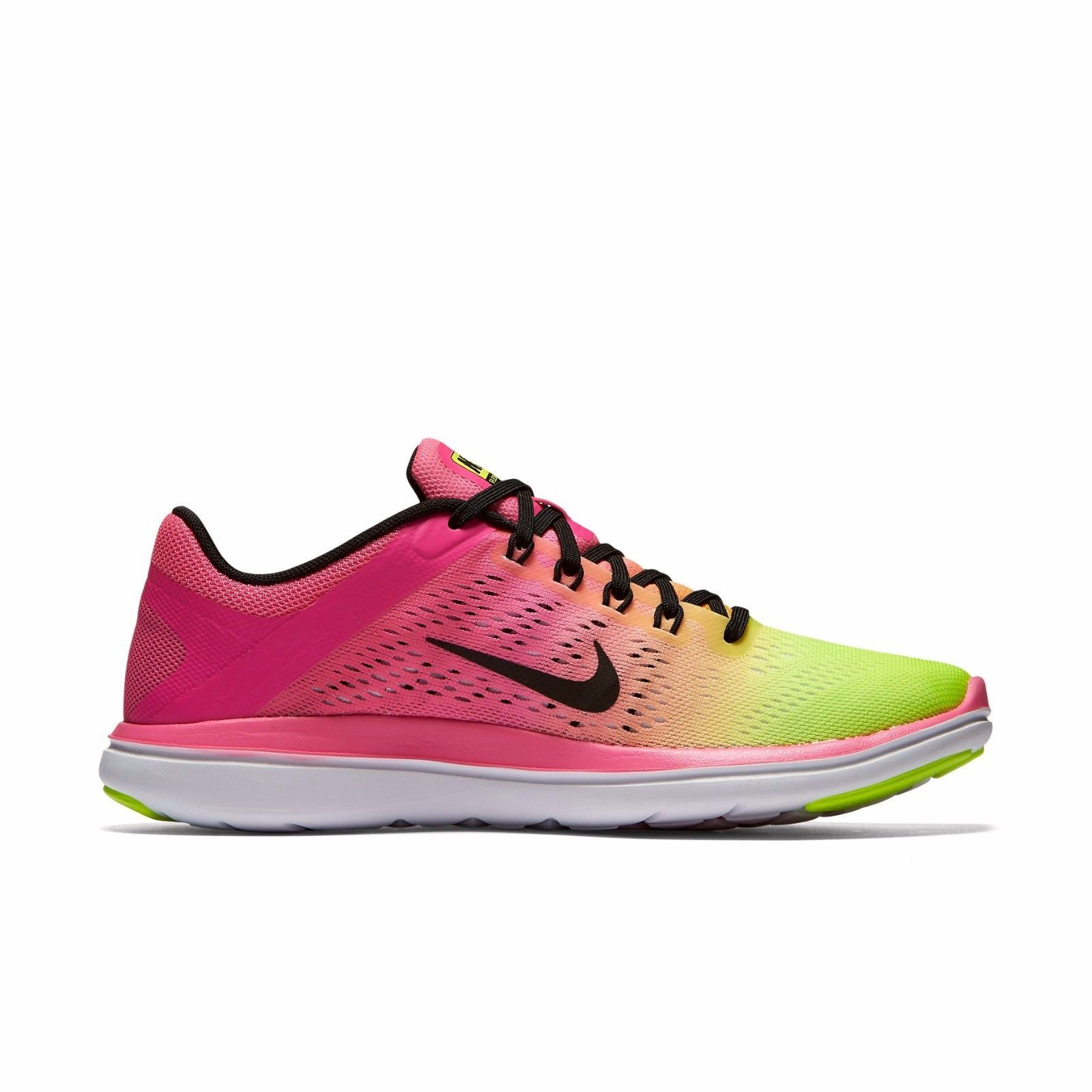 ad041aed66478 Women's Nike Flex Running Shoes NEW Volt/Pink and 25 similar items