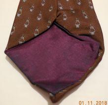 "Mens Geoffery Beene 100% silk Neck Tie 58"" long 3 1/2"" wide #6 Necktie image 5"