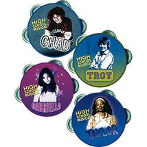 High School Musical Mini Tambourines, 4ct - $7.92
