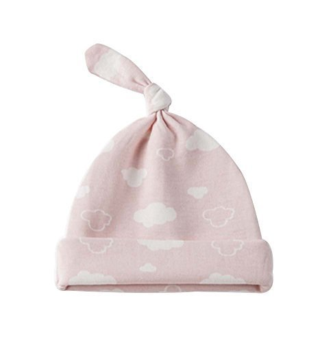 Cloud,Pure Cotton Comfortable Ventilate Elegant Children Cap/Kid Hat(Pink)