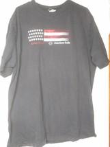 Black 2008 Harley Davidson T-Shirt American Flag Eagle PA Unisex 2X Doub... - $29.69