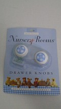 Anne Geddes Nursery Rooms Drawer Knobs Blue And... - $12.86