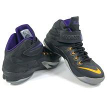 Nike ID Zoom Lebron Soldier 8 VIII Black Basketball Shoes Mens 9 708322-992 - $46.75
