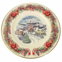 Lenox Retired 1st Issue Collector Plate-New England Hilltop Village-NIB-... - $23.61