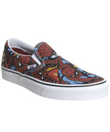 VANS CLASSIC SLIP ON MARVEL SPIDERMAN BLACK 2018 MENS LIMITED EDITION - $69.95