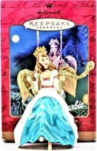 Barbie Angel Of Joy Barbie Hallmark Keepsake Holiday Ornament 2000 Colle... - $9.89