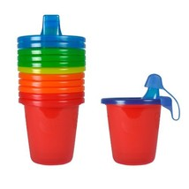 The First Years Take & Toss Spill-Proof 7 Ounce Cups 6 ea Assorted Color... - $8.95