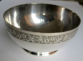 """Frederick Ellis Timm & Co ca1877 Beautiful Silver Plated 4"""" Christening ... - $42.75"""
