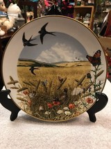 The Wheatfields in August by Peter Barrett Plate-1979 Franklin Porcelain - $18.75