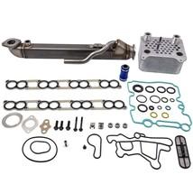 EGR Cooler Kit & Upgraded Oil Cooler Kit For Ford E-350 E-450 Diesel Turbo 6.0L - $153.00