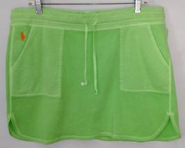 Polo Ralph Lauren Neon Green Terrycloth Skirt w... - $19.79