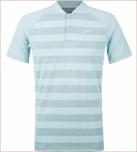 new Nike Golf Zonal Cooling men shirt slim fit 933318-531 blue sz CUSTOM... - $59.99