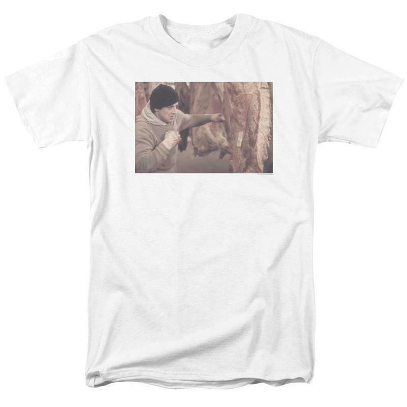 Rocky Retro 70's 80's Movie Rocky Balboa graphic T-shirt MGM243