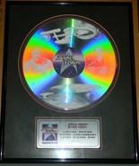 Star Trek 25th Anniversary Ltd Ed Num Laser Etched Disc Framed Matted NE... - $125.77
