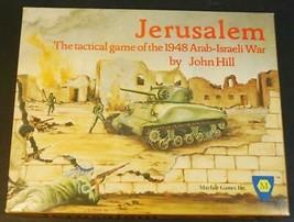 Jerusalem: Tactical Game of 1948 Arab-Israeli War Mayfair  Game Unpunched - $64.35