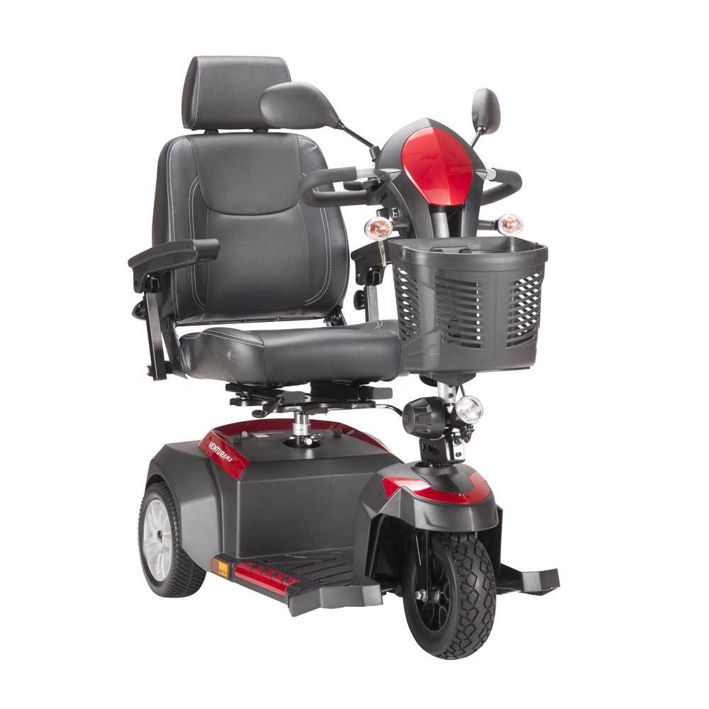 Drive medical ventura power 3 wheel mobility scooter 0 large