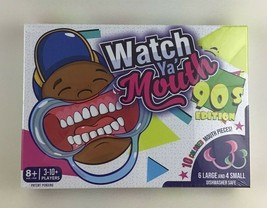 Watch Ya' Mouth 90's Edition Game Mouthguard Mouth Opener Timer Hilariou... - $22.23