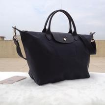 Longchamp Le Pliage Large Graphite Gray Handbag Neo Shoulder Strap L1515... - $79.99