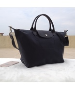Longchamp Le Pliage Large Graphite Gray Handbag Neo Shoulder Strap L1515... - $79.99