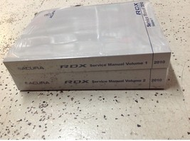 2010 Acura RDX Service Repair Shop Workshop Manual Set OEM Factory Brand... - $98.99