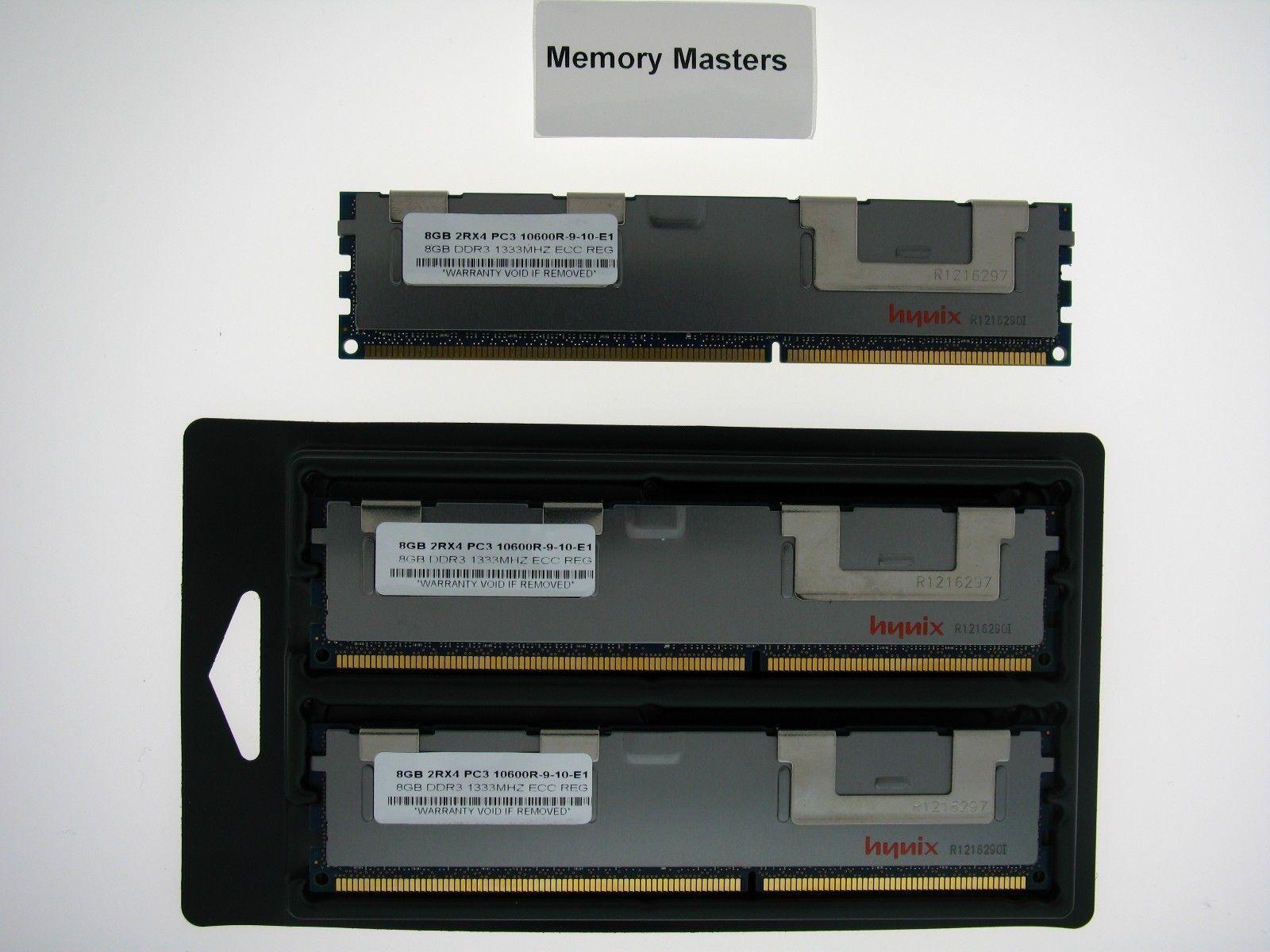 24GB  (3X8GB) MEMORY FOR INTEL SR1625URR SR1680MV SR1690WB SR2600UR - $206.91