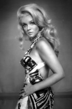 Ann-Margret Glamour Pose in Striped Dress 18x24 Poster - $23.99