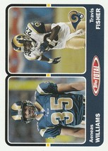 2003 Topps Total #433 Aeneas Williams/Travis Fisher  - $0.50